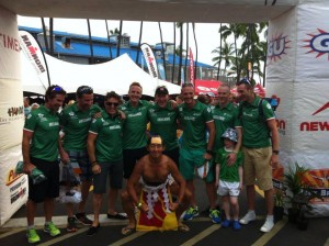 Irish Triathletes in World Champs KONA