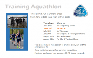 Training Aquathlon